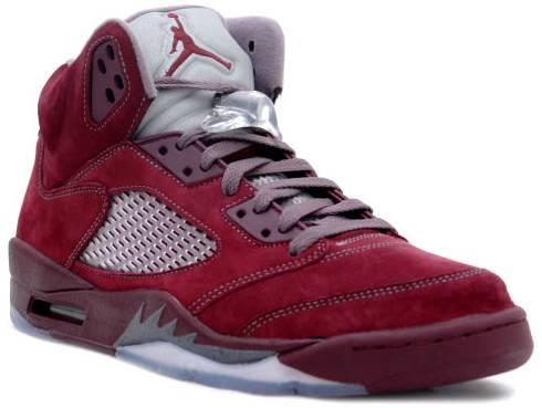 Air Jordan 5 Retro LS 'Burgundy'