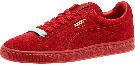 Suede Classic Mono Iced 'All Red' Puma 360231 05 | GOAT