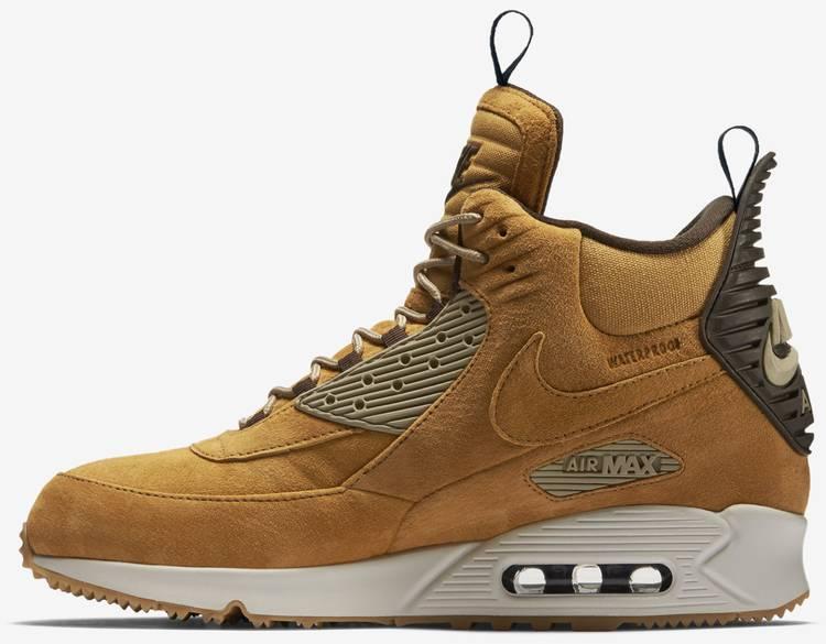 Air Max 90 Sneakerboot 'Wheat' - Nike - 684714 700 | GOAT
