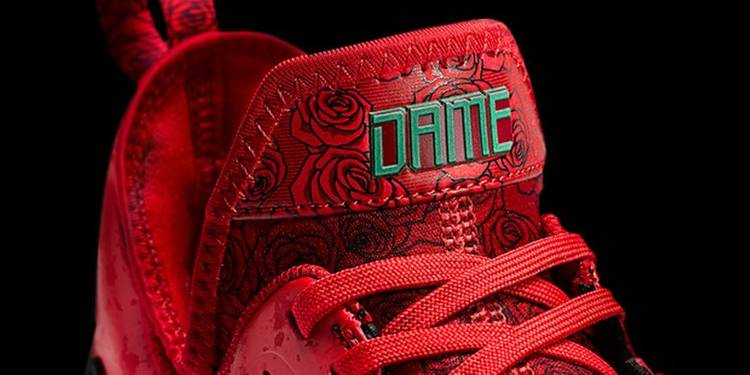 adidas d lillard 1 rose city