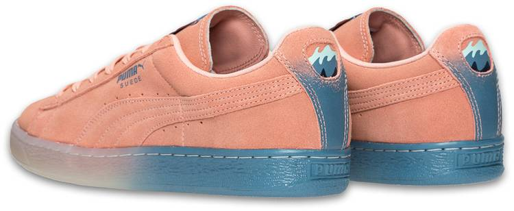 Pink Dolphin x Puma Suede Classic