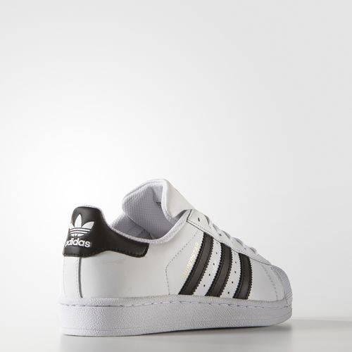 adidas superstar j sneaker c77154 white/core black/white