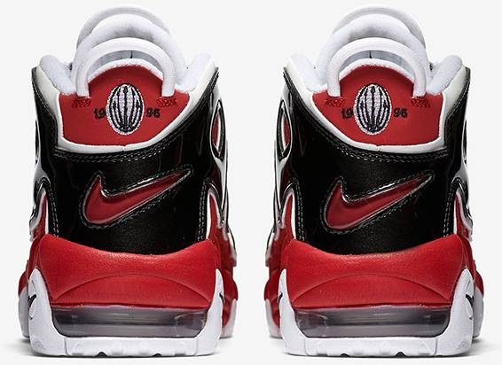 Air More Uptempo GS 'Varsity Red' - Nike - 415082 600 | GOAT