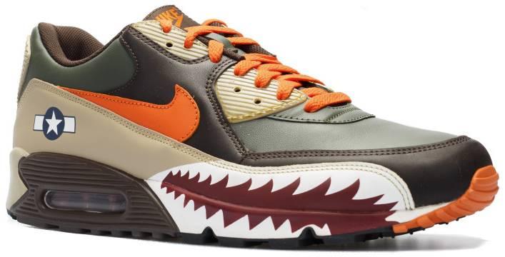 Air Max 90 Premium 'Warhawk' - Nike - 315728 381 | GOAT