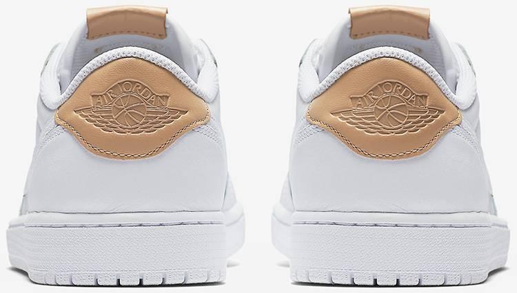 Air Jordan 1 Retro Low OG Premium 'White Tan'