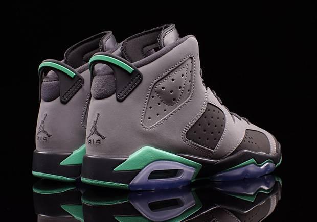best cheap new styles classic shoes Air Jordan 6 GS 'Green Glow'