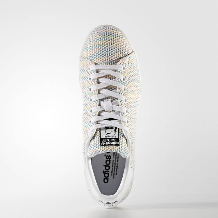 adidas stan smith mesh noir