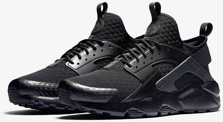 Definir Betsy Trotwood más y más  Air Huarache Run Ultra SE Premium 'Triple Black' - Nike - 857909 002 | GOAT