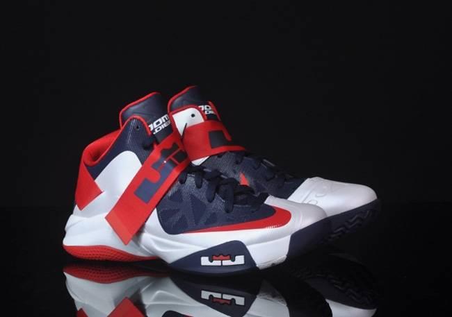 objetivo Desarmado Con fecha de  LeBron Zoom Soldier 6 'USA' - Nike - 525015 101 | GOAT