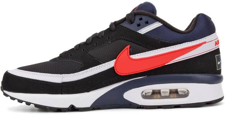 Nike Air Max BW Premium Olympic Men's Running Shoes 819523