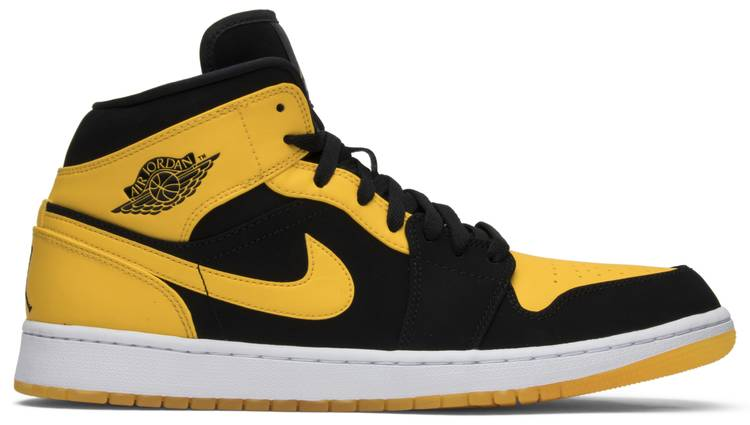 jordan retro 1 black and yellow shoes nz