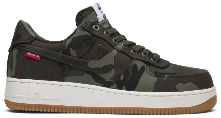 Nike Supreme x Air Force 1 Low Premium '08 NRG 'Camo'