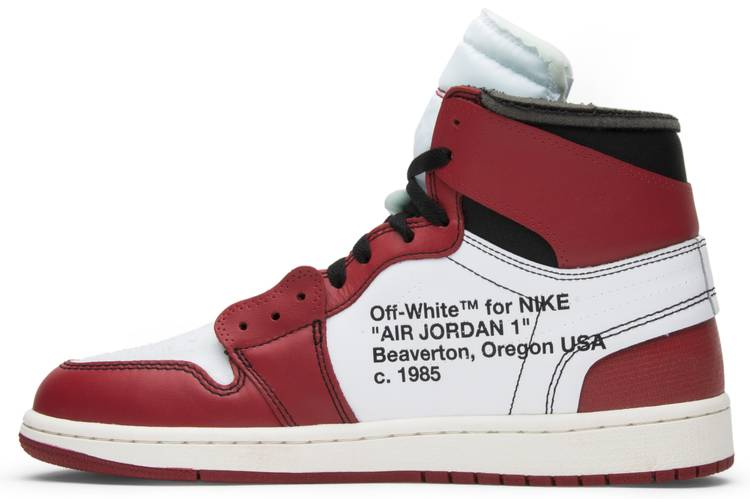 Off-White x Air Jordan 1 Retro High OG 'Chicago' - Air ...