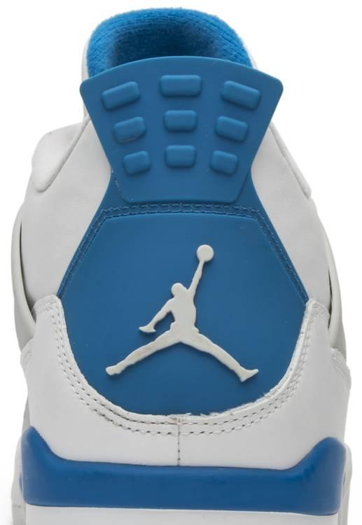 AIR JORDAN 4 RETRO 'MILITARY BLUE' 2012
