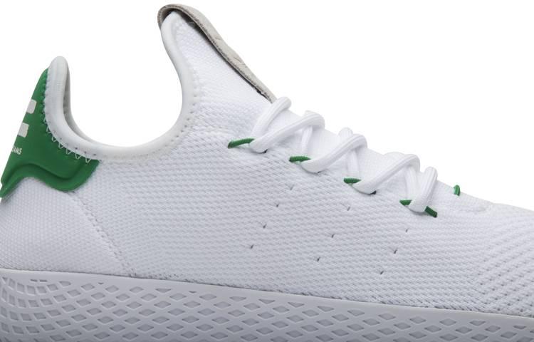 Pharrell X Tennis Hu Green Adidas Ba7828 Goat