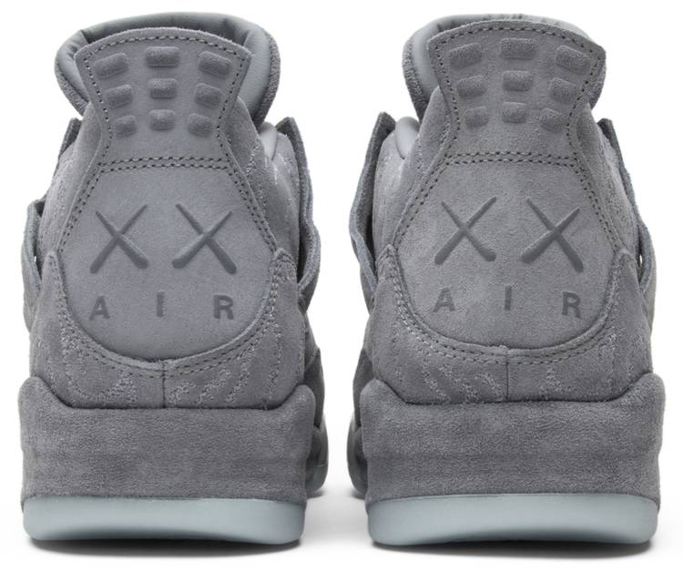 air jordan retro 4 kaws