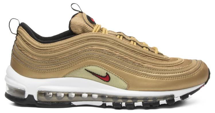 Agarrar periodista Bigote  Air Max 97 OG QS 'Metallic Gold' - Nike - 884421 700 | GOAT