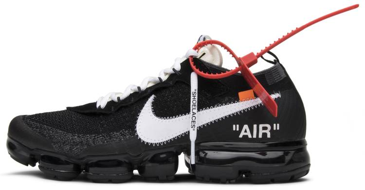 Bombardeo Telemacos Típicamente  Off-White x Air VaporMax 'The Ten' - Nike - AA3831 001 | GOAT