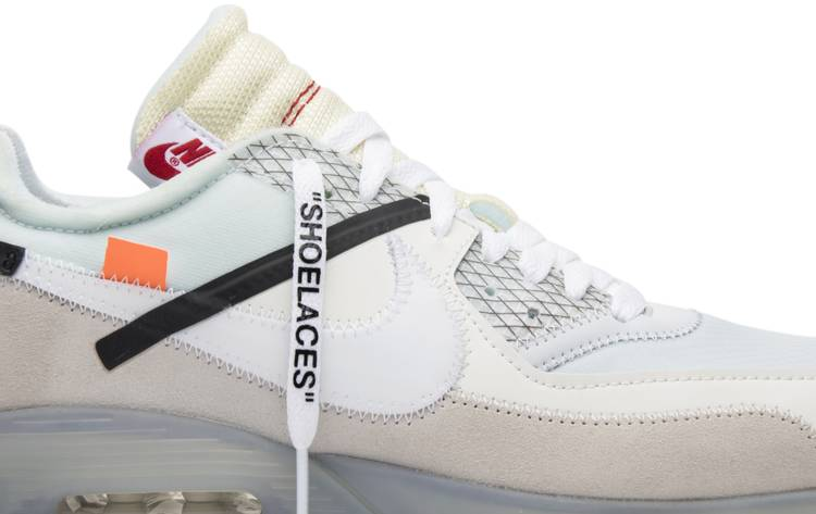 Off White X Air Max 90 The Ten Nike Aa7293 100 Goat