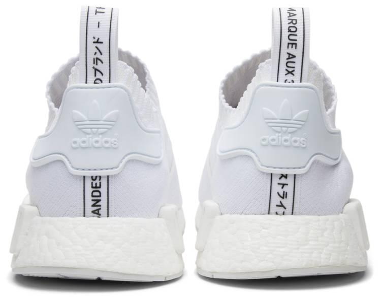 de primera categoría cáncer canal  NMD_R1 Primeknit 'Japan Triple White' - adidas - BZ0221 | GOAT