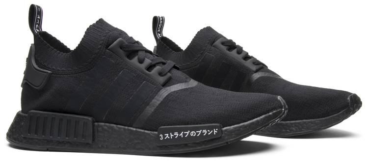nmd adidas triple black