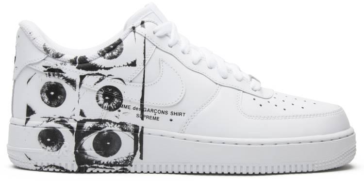 Nike Comme des Garçons x Supreme x Air Force 1 Low 'Eyes'