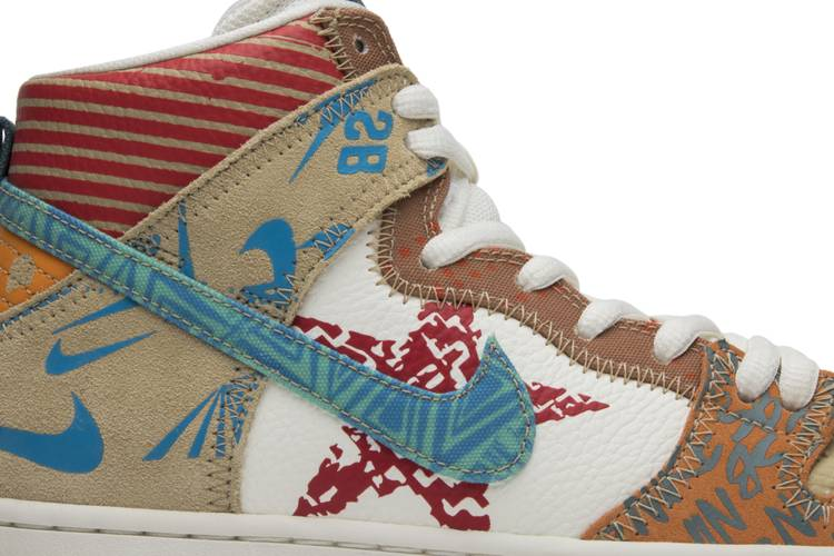 popular brand latest design ever popular Thomas Campbell x SB Dunk High 'What The' - Nike - 918321 381 | GOAT