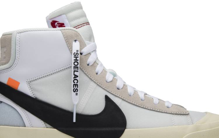 Nike Blazer De Chèvre Blanc Brun