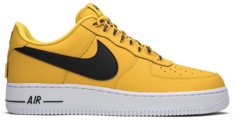 nike af1 yellow