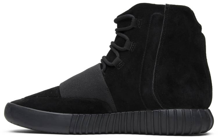 shopping detailed pictures good texture Yeezy Boost 750 'Triple Black'