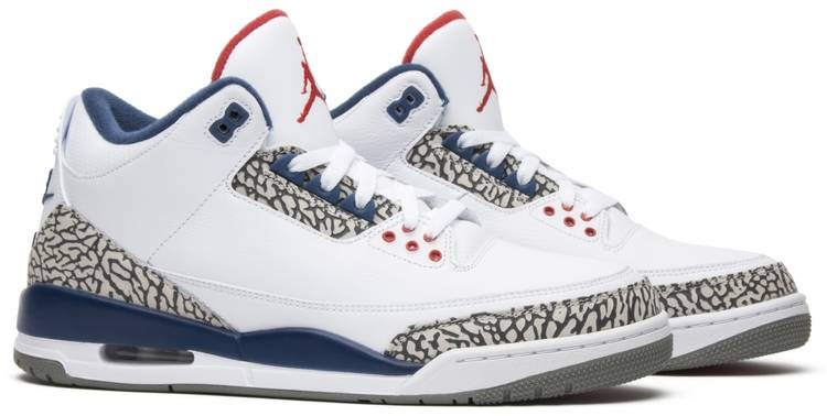 Jordans 3 Air Jordan 3 Retro OG 'True Blue' 2016 - Air Jordan - 854262 106 ...