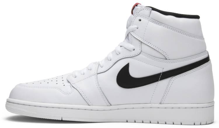 white jordan ones