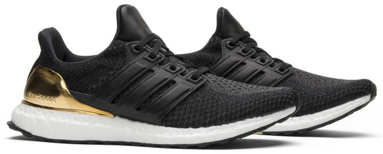 Ultra Boost 2.0 Limited 'Gold Medal' Adidas BB3929 Core Black