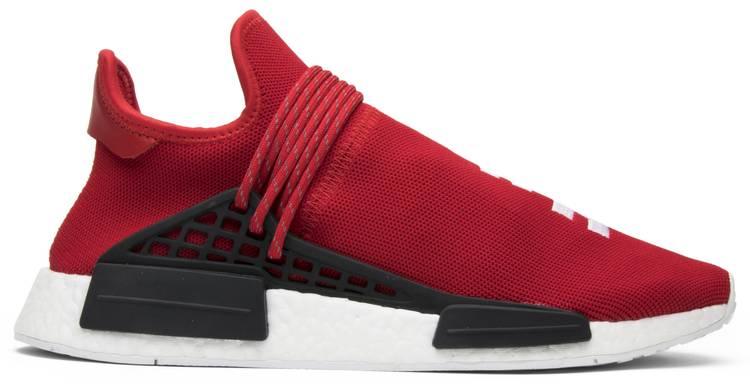 Pharrell X Nmd Human Race Red Adidas Bb0616 Goat