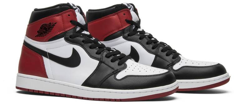 Air Jordan 1 Retro High OG 'Black Toe' 2016 - Air Jordan ...
