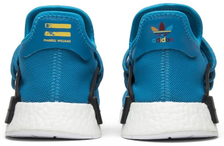 new products huge discount super cheap Pharrell x NMD Human Race 'Blue'