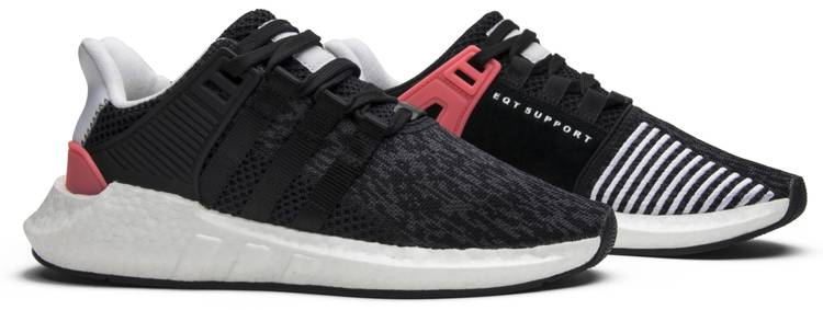 EQT Support 9317 'Core Black Turbo Red' adidas BB1234