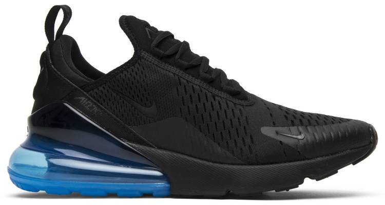 Air Max 270 Black Photo Blue Nike Ah8050 009 Goat