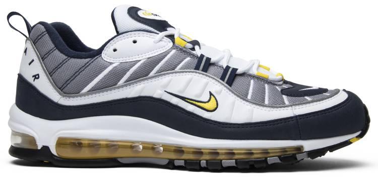 air max 98 yellow