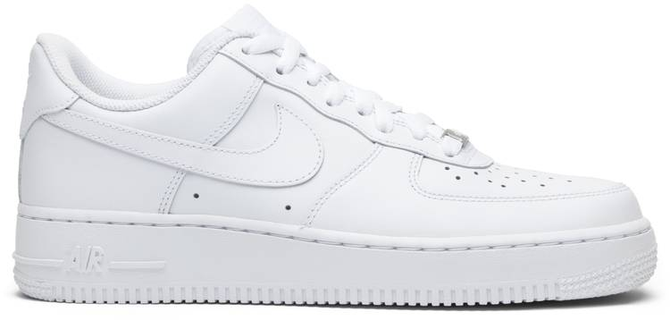 nike air force 1 '07 leather blanc et rouge