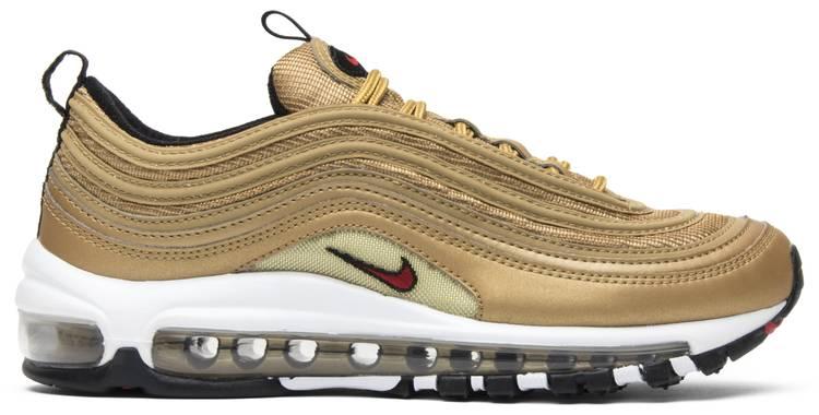 Wmns Air Max 97 OG QS 'Metallic Gold' - Nike - 885691 700 | GOAT