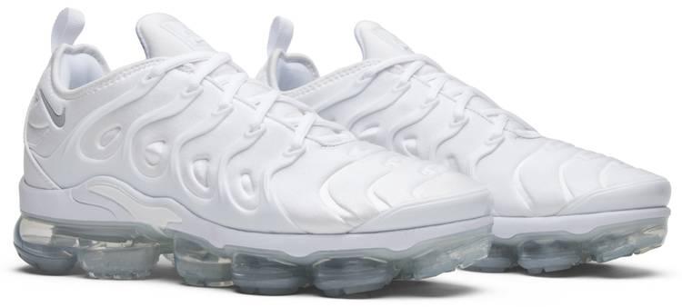 religión Acumulación Venta anticipada  Air VaporMax Plus 'White Platinum' - Nike - 924453 100 | GOAT