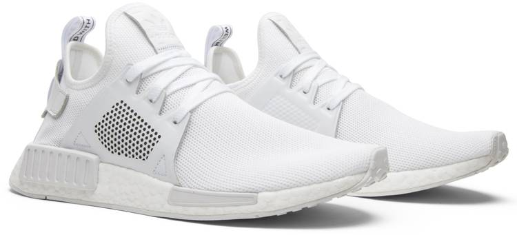 adidas NMD XR1 Triple White Leather BY9922   SneakerFiles