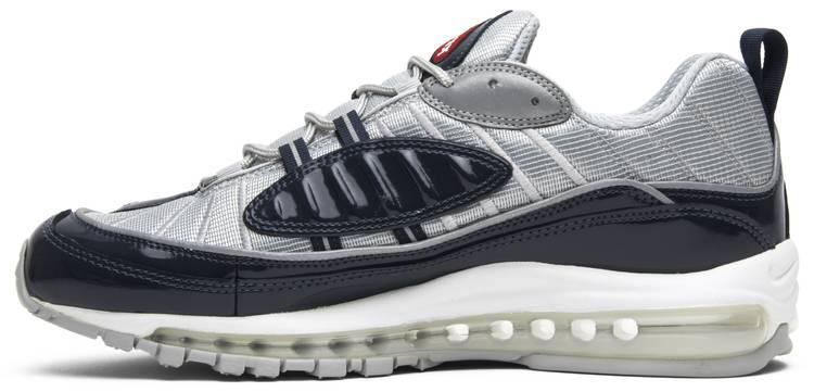Sfortunatamente Non voglio Repulsione  Supreme x Air Max 98 'Obsidian' - Nike - 844694 400 | GOAT