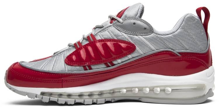 humor Adaptabilidad Línea del sitio  Supreme x Air Max 98 'Red' - Nike - 844694 600 | GOAT