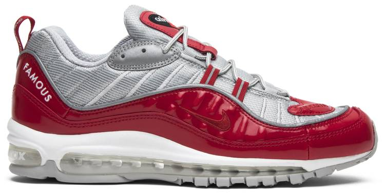 Supreme x Nike Air Max 98 Varsity Red 2016 (by