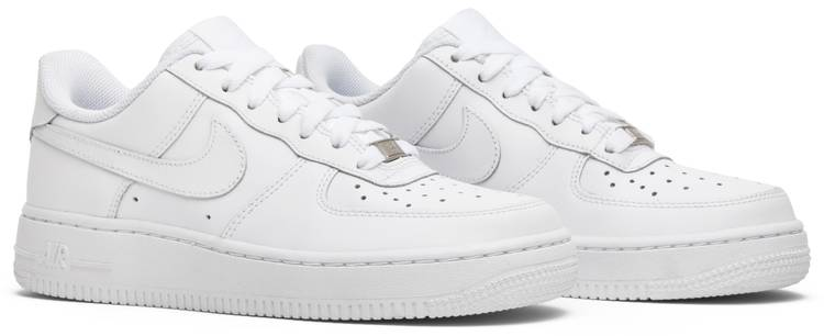 Nike Air Force 1 Low GS Air Force 1 Low GS 'White' - Nike - 314192 117 | GOAT