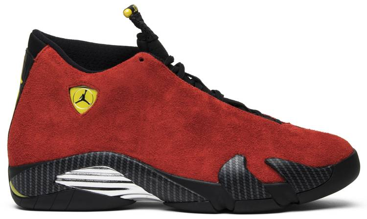 size 7 wide varieties best value Air Jordan 14 Retro 'Ferrari'