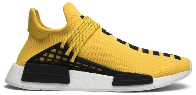 Pharrell x NMD Human Race  Yellow  - adidas - BB0619  6ed646c422ce