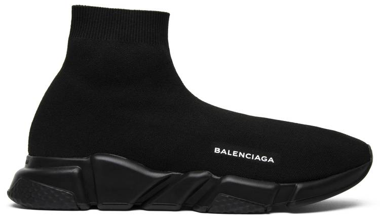 Balenciaga Speed Trainer Mid  Triple Black  - Balenciaga ... dab5ae72e